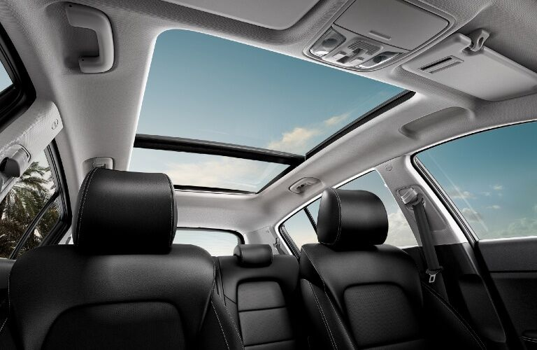 sportage sunroof