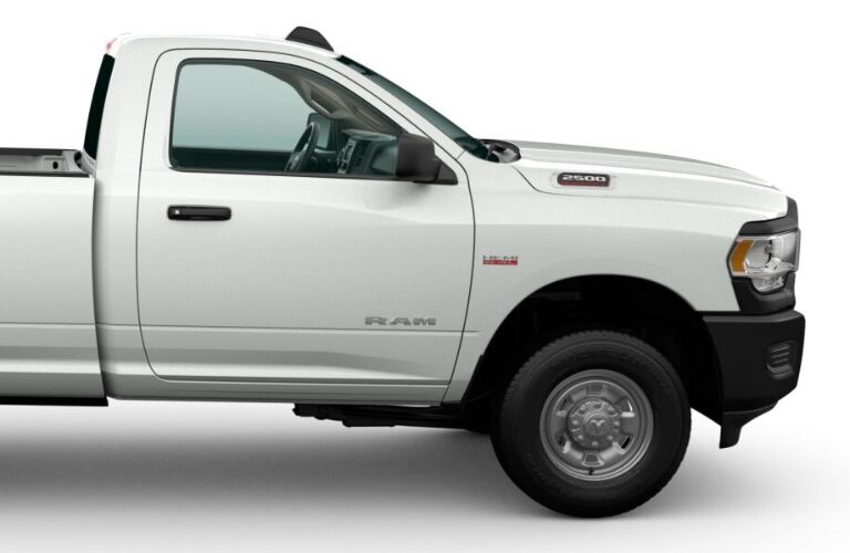 2020 RAM 2500 front end