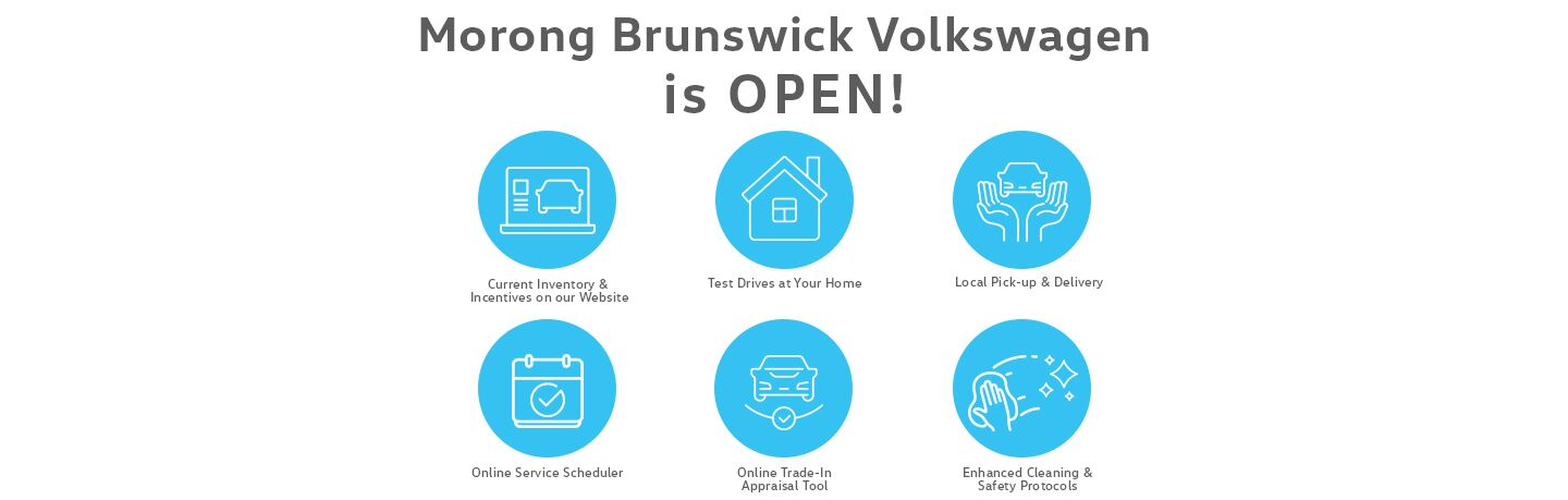 Morong Brunswick Volkswagen is OPEN!