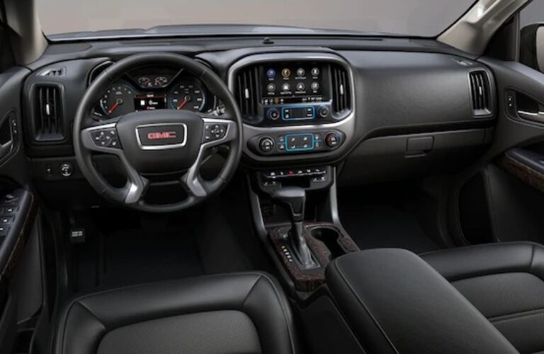 2021 GMC Canyon Dashboard