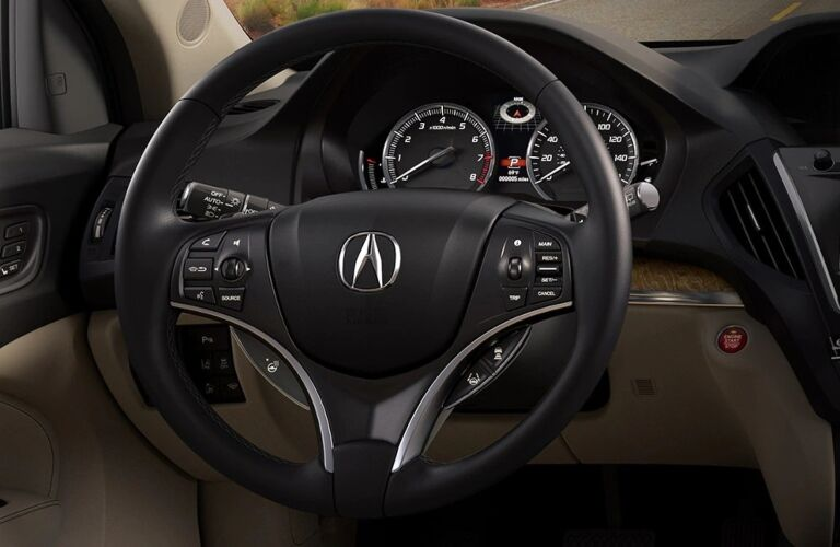 2020 Acura MDX steering wheel