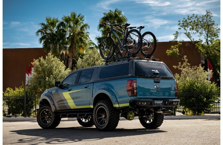 2018 Ford Ranger SEMA design with covered bed
