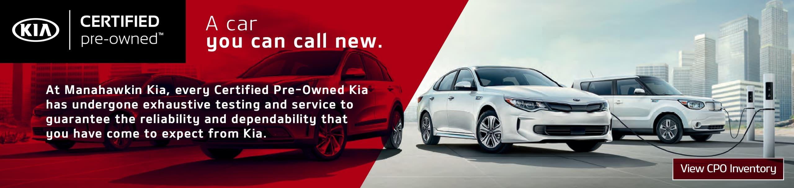 Kia Certified Pre Owned >> Kia Certified Preowned Program