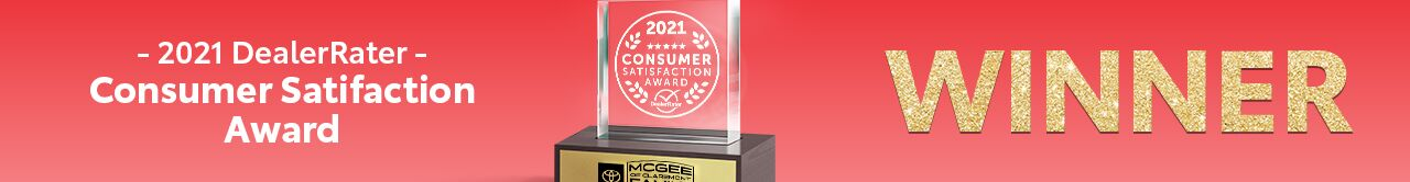2021 DealerRater Customer Satisfaction Award