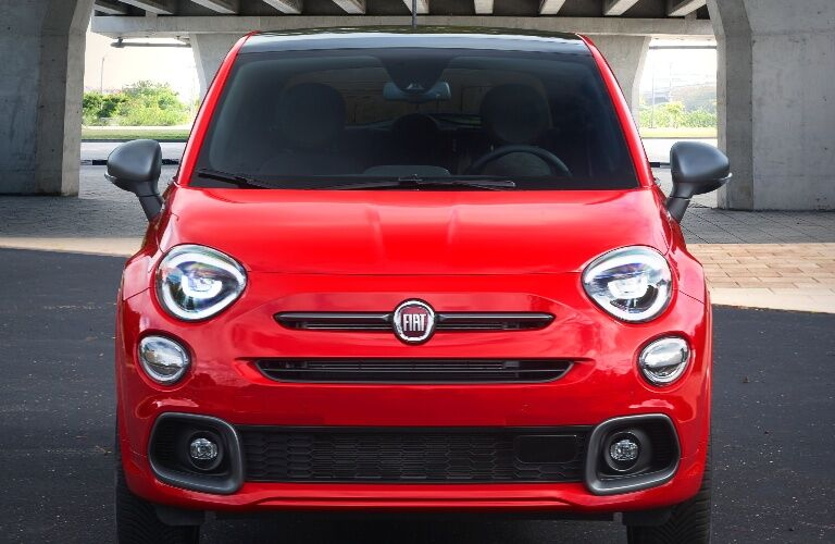 2020 Fiat 500X front end
