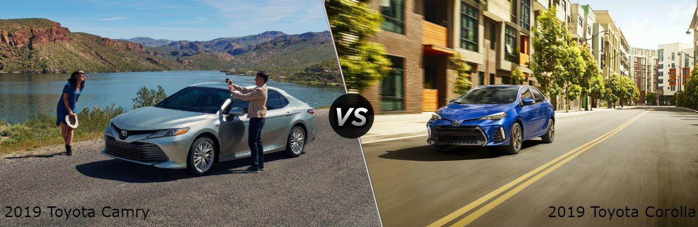 2019 Toyota Camry Vs 2019 Toyota Corolla In Lima Oh