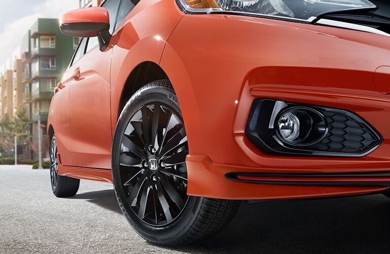 2019 Honda Fit front grille close up