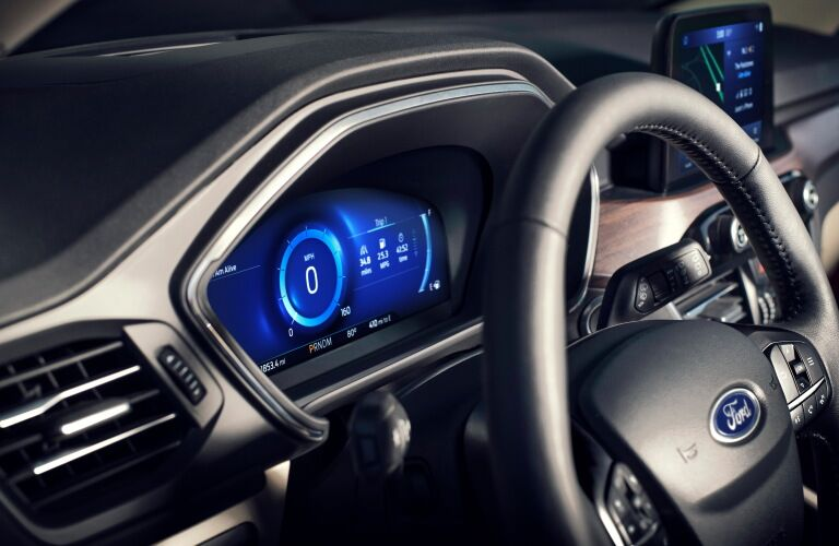 Instrument cluster of 2020 Ford Escape