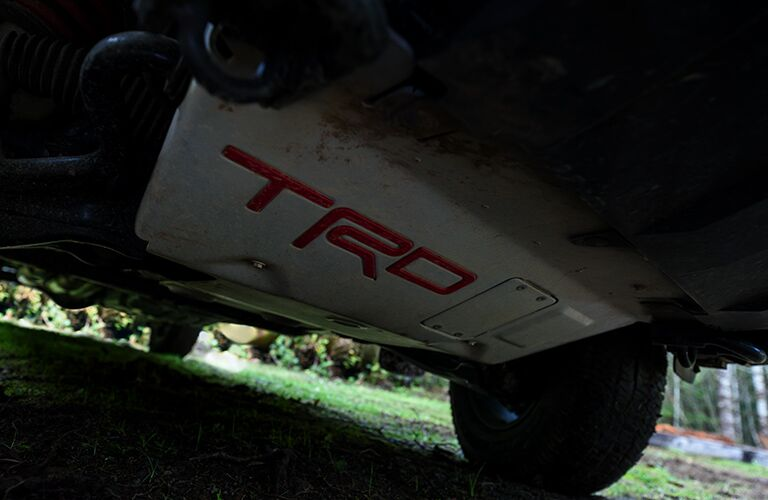 2020 Toyota Sequoia TRD Pro skid plate
