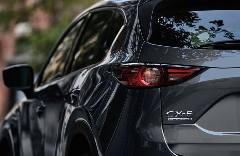 Back end of the 2020 Mazda CX-5