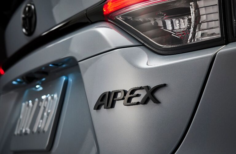 2021 Toyota Corolla Apex Edition badge