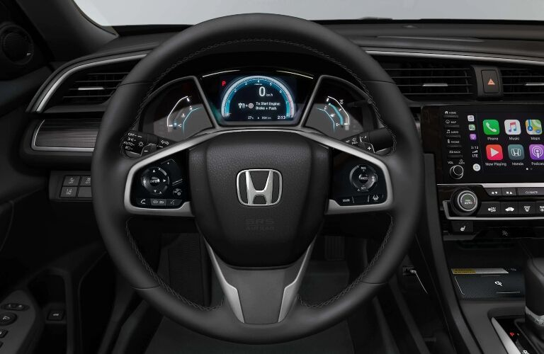 Behind the wheel of the 2021 Honda Civic Sedan