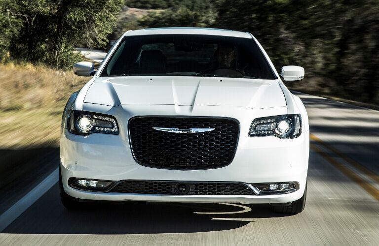 2020 Chrysler 300S going down the street