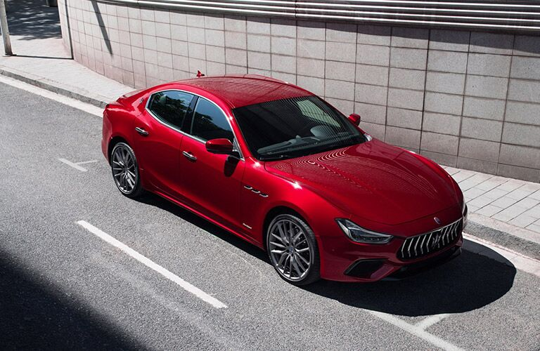 2019 Maserati Ghibli in red