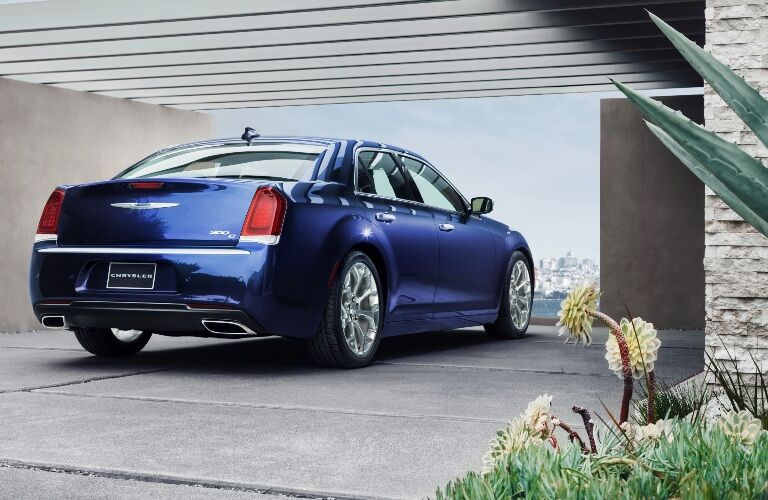 2020 Chrysler 300C parked in driveway