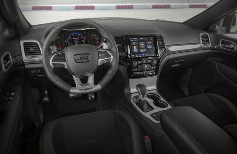 2020 Jeep Grand Cherokee front interior