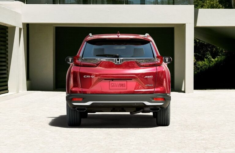 2021 Honda CR-V parked in the driveway