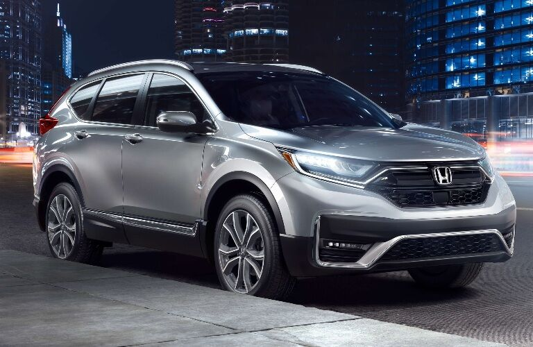2020 Honda CR-V parked on the side of the street