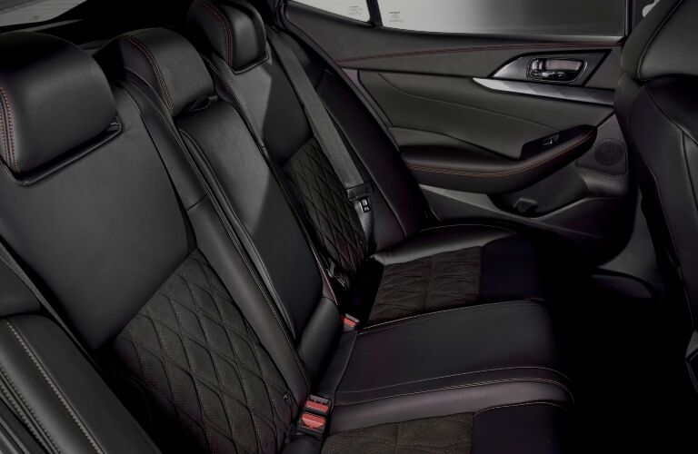 2019  Nissan Maxima back seats