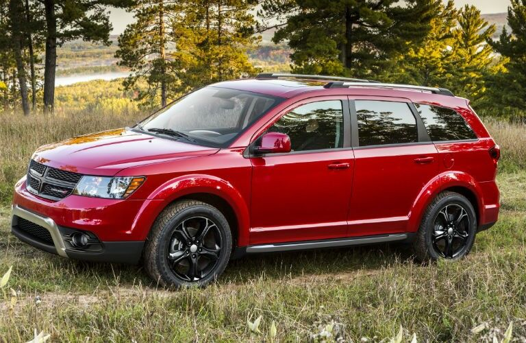 2020 Dodge Journey front driver side in field