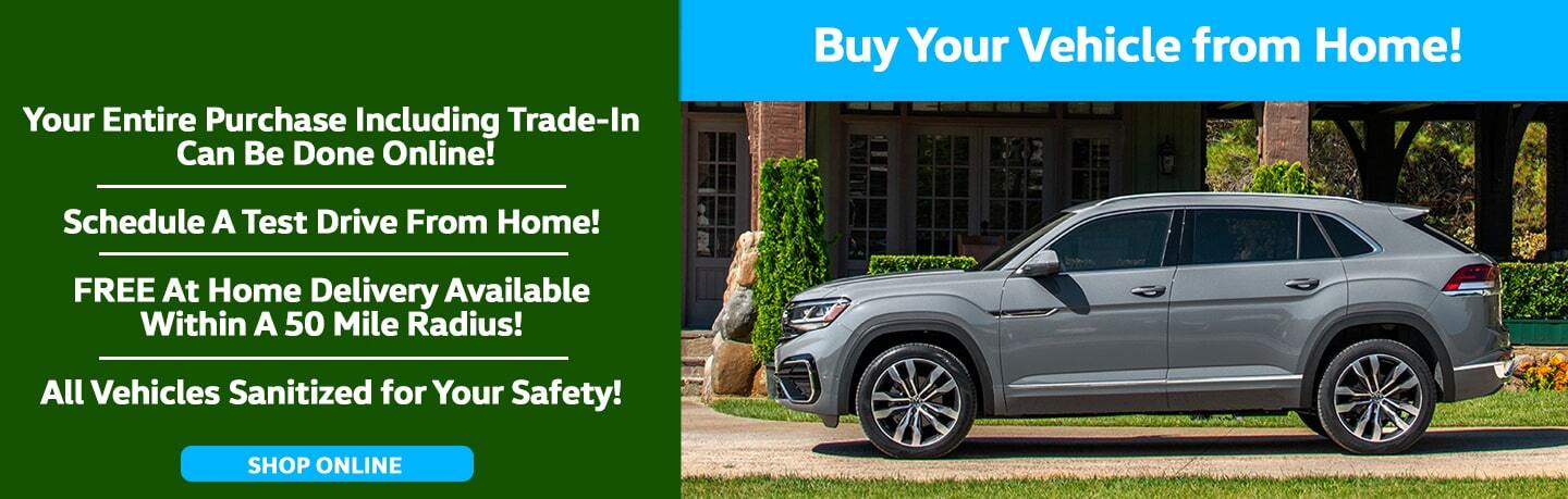 Buy Your Vehicle From Home