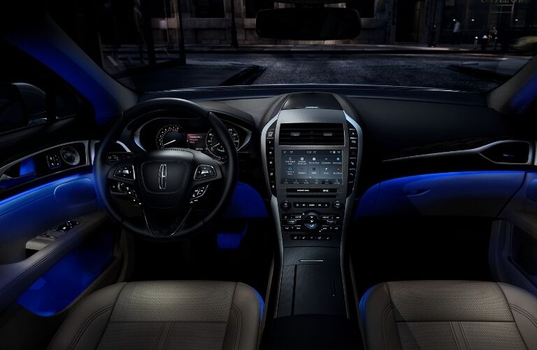 2020 Lincoln MKZ Dashboard