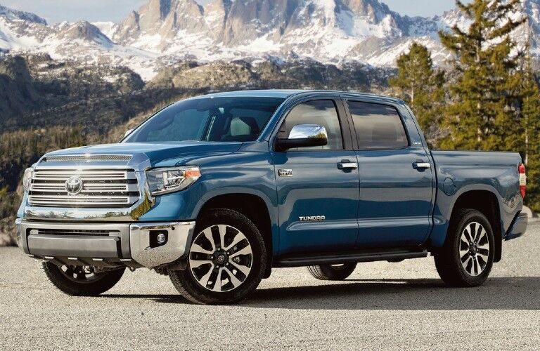 2021 Toyota Tundra from exterior front