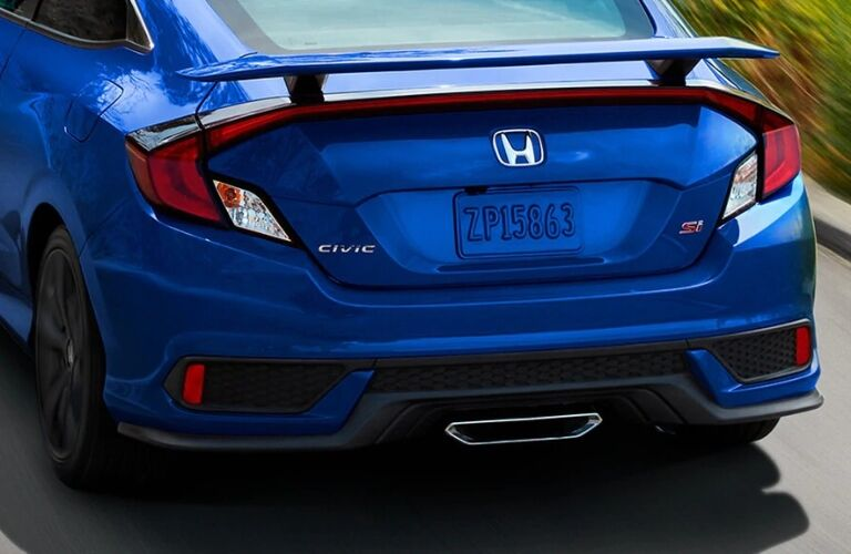 2020 Honda Civic Si Coupe back end