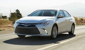 front view of the 2020 Toyota Camry
