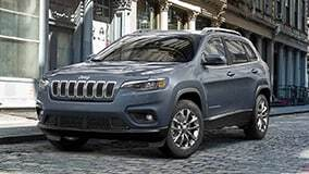Jeep Cherokee parked