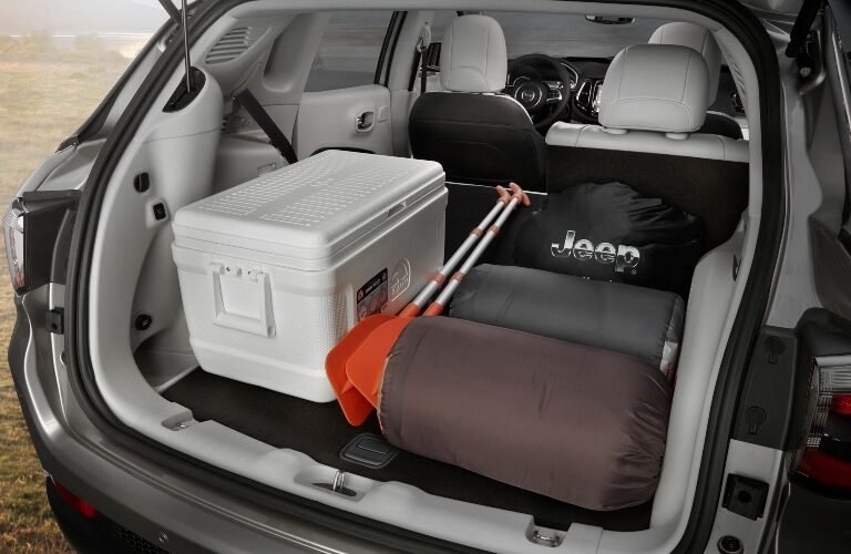 2020 Jeep Compass cargo area