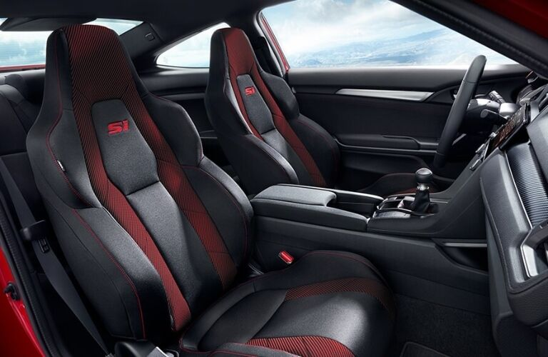 2020 Honda Civic Si Coupe interior
