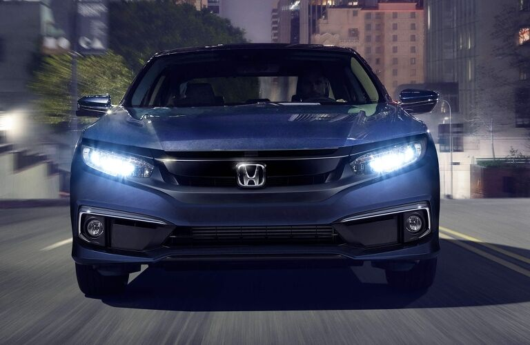 2021 Honda Civic Sedan front end