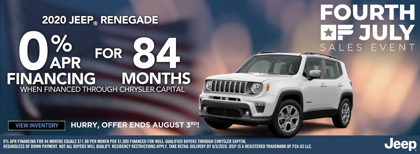2020 Jeep Renegade - August