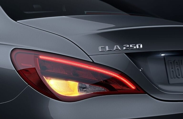 Rear Tail Light of 2019 Mercedes-Benz CLA 250 Coupe