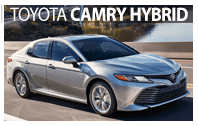 Toyota Camry Hybrid Rentals in South Burlington, VT