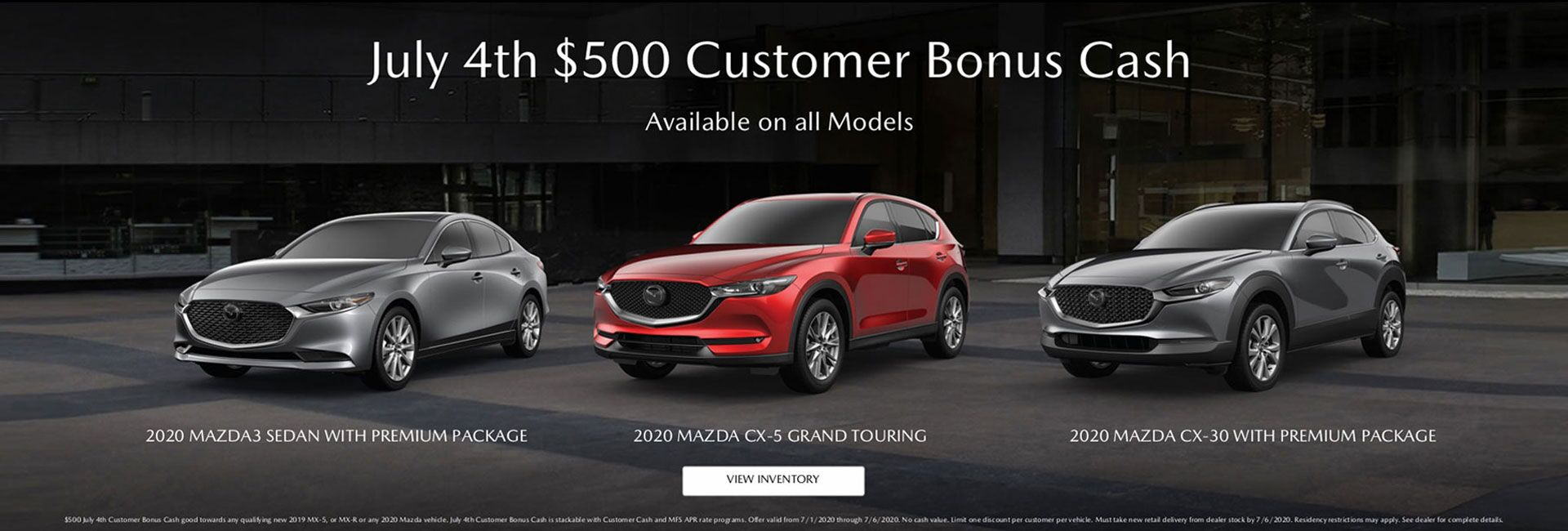 July 4th - Customer Bonus Cash