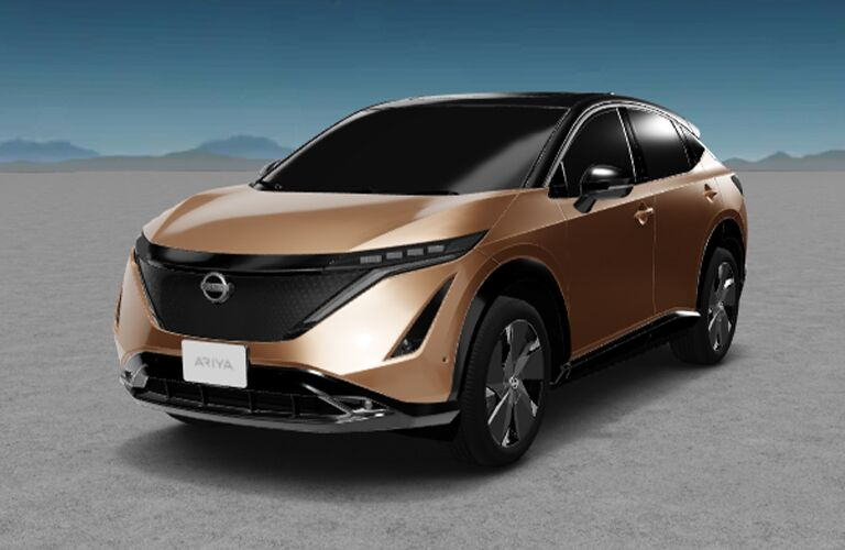 2022 Nissan Ariya from exterior front