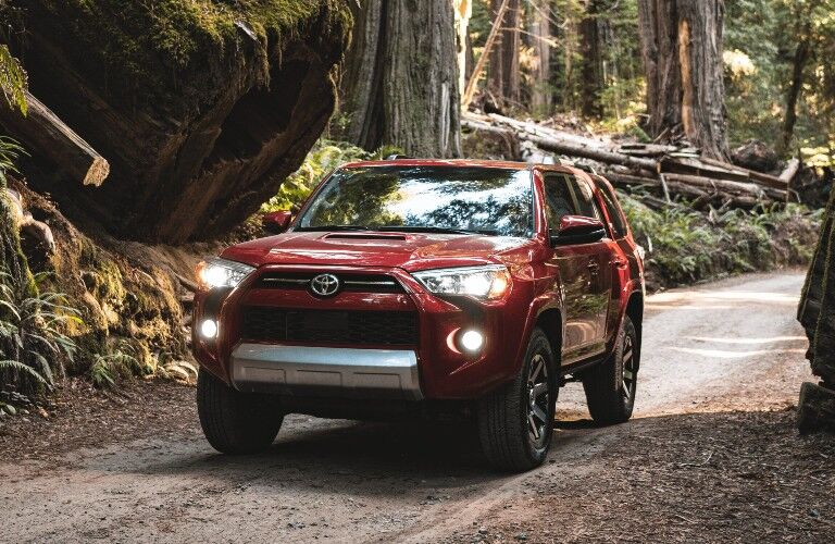 2021 Toyota 4Runner front look