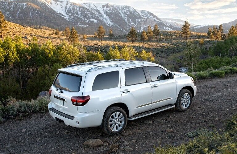 2020 Toyota Sequoia from side