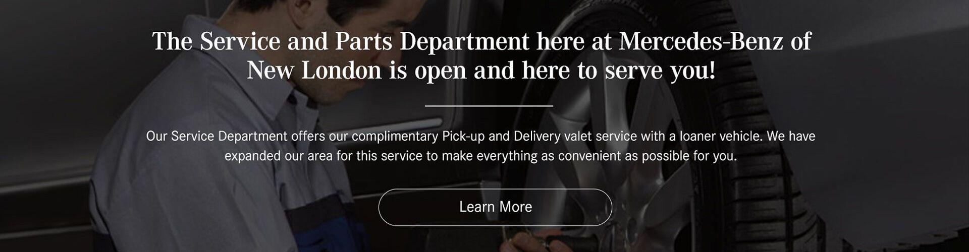 Service & Parts Complimentary Pick Up