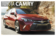 Toyota Camry Rentals in South Burlington, VT