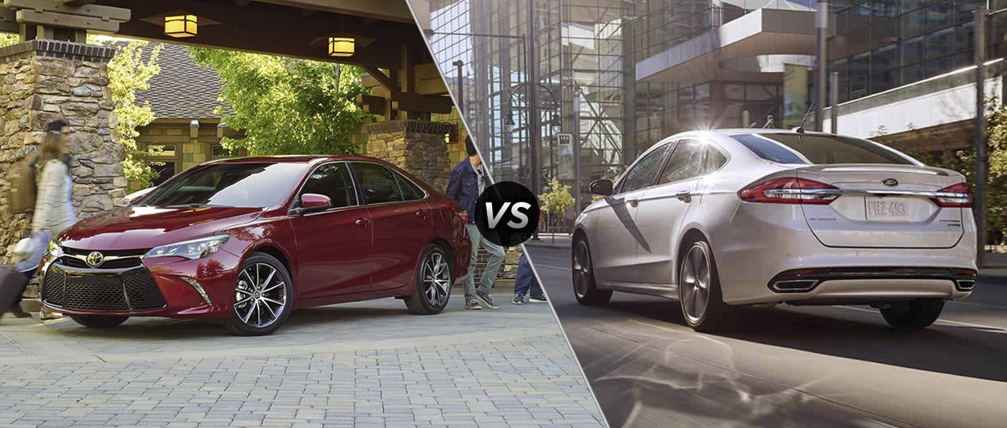 2017 Toyota Camry vs 2017 Ford Fusion at Heritage Toyota