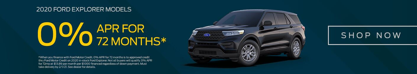Jan 2021 2020 Ford Explorer