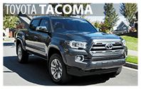 Toyota Tacoma Rentals in South Burlington, VT