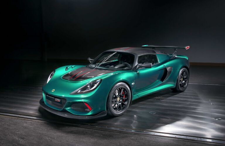 mint green lotus exige