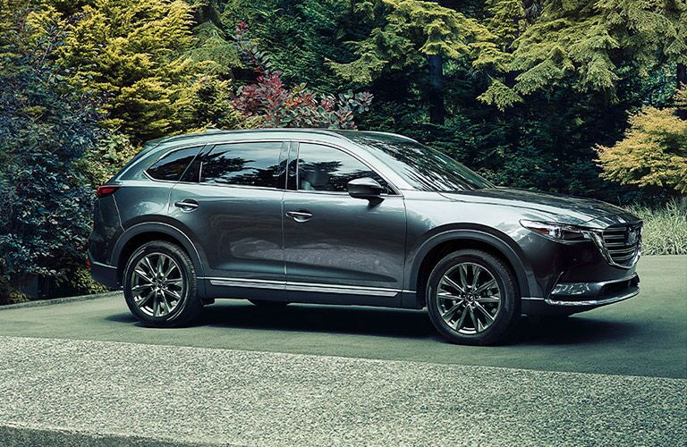 side view of the 2020 Mazda CX-9
