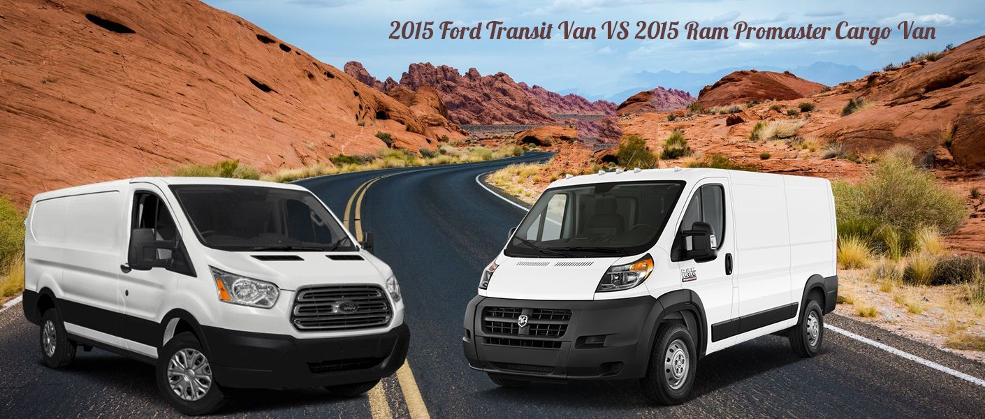Used 2015 Ford Transit Cargo Van for sale VS Used 2015 Dodge Ram Promaster Cargo Van for sale