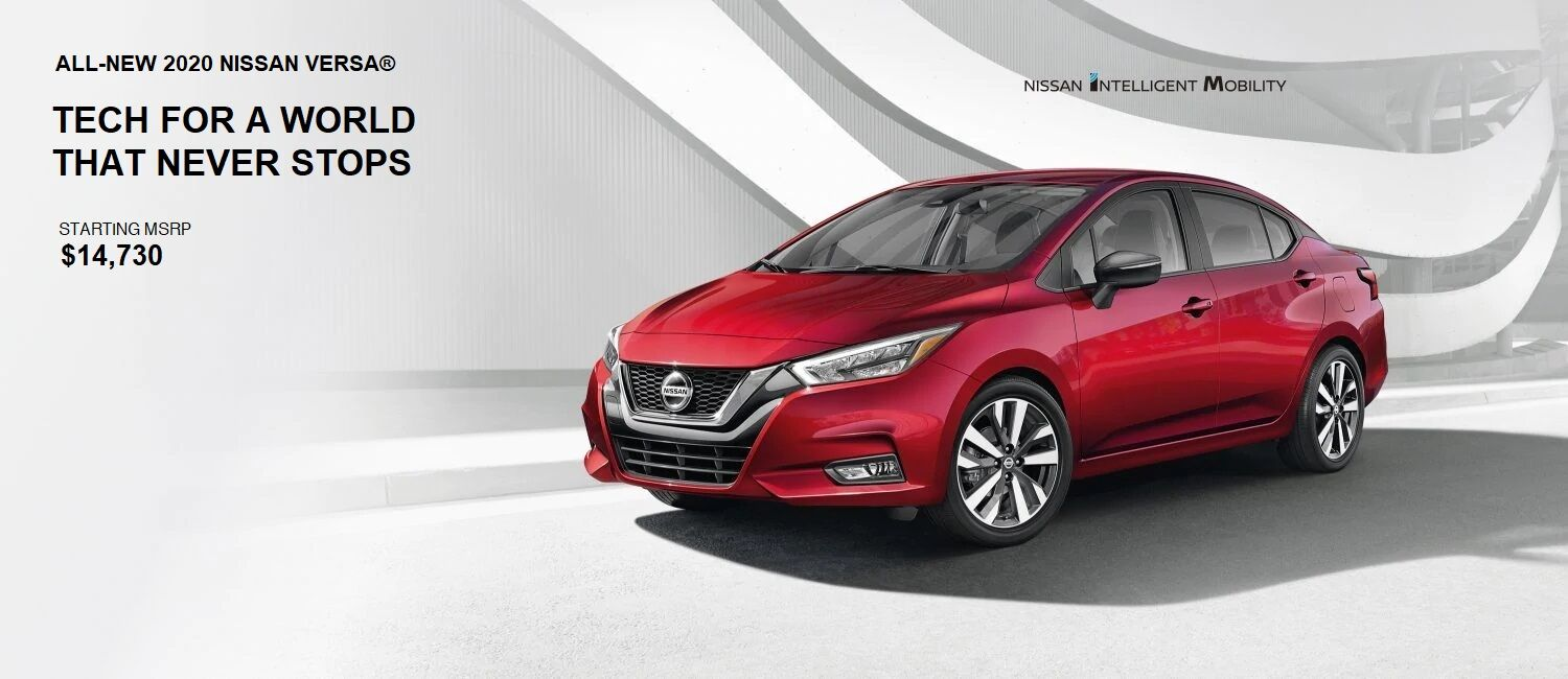2020 Nissan Versa In Knoxville Rusty Wallace Nissan