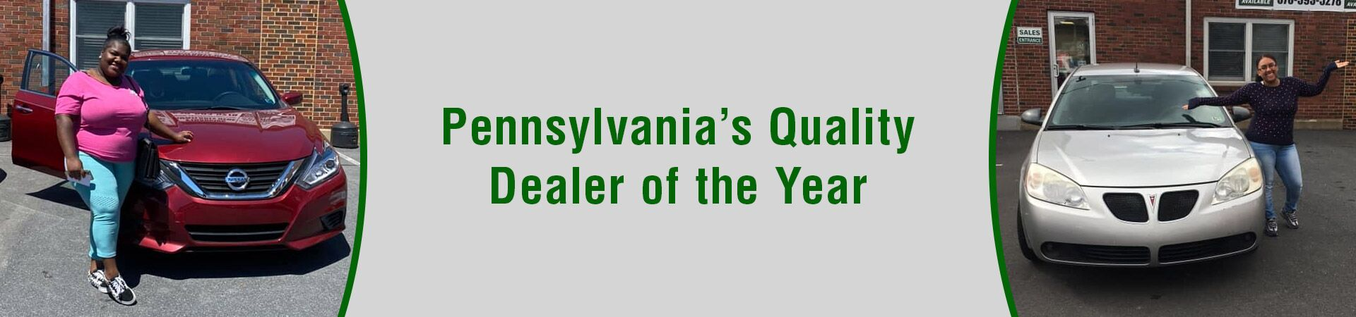 PA Quality Dealer of the Year
